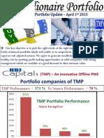 TMP - March Update