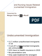 health and nursing issues related to undocumented immigration