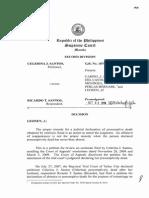 Celerina J. Santos Vs. Ricardo T. Santos