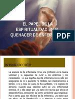 La enfermeria y la espiritualidad