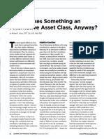 What is an Alternative Asset Class