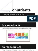 macronutrients presentation