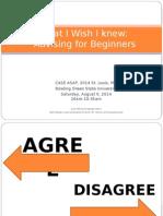 advising artifact 2-case asap 2014 presentation