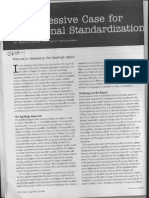 0640 Case for Standardization