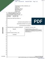 The Procter & Gamble Company v. Kraft Foods Global, Inc. - Document No. 30
