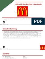 McDonald's Research Report