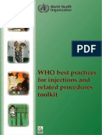 WHO Best Practices