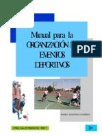 Organizacion de Eventos Deportivos Pedro Martinez Ramirez