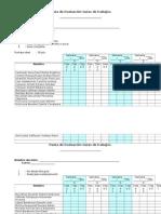 Pauta de Evaluación Guías de trabajos
