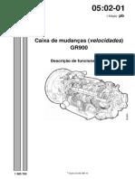 Caixa de Mudanças GR900 - Descrição de Funcionamento