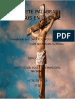 LAS SIETE PALABRAS DE JESÚS EN LA CRUZ.docx