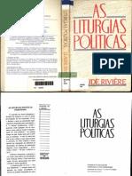 RIVIERE, Claude. Liturgias Políticas