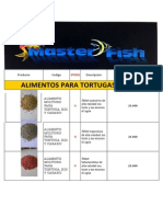 Lista Accesorio MASTER FISH