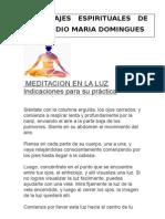Claudio m. Domingues - Mensajes Espirituales