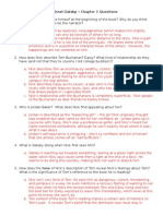 Gatsby Questions Answer Key 2013