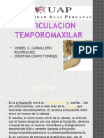 Articulacion Temporo Maxilar