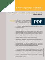Mídia e Violência – Como Os Jornais Retratam a Violência e a Segurança Pública No Brasil
