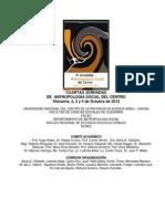 Circular IV Jornadas Centro 2013