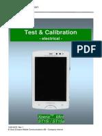 Sony Ericsson ST15 Xperia Mini Test & Calibration - Electrical Rev1
