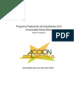 Programa Acción Colectiva-FEUTFSM2015