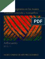 Los Pueblos Originarios en Los Museos. Propuestas Curatoriales y Museográficas. (2012)