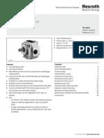 Internal Gear Pump Bosch Rexroth PGF 1422875322
