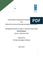 Annual Report - SAJI to Norway_2013