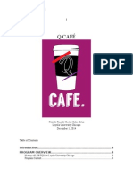 q Cafe Evaluation