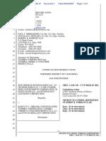 New Medium Technologies LLC et al v. Barko N.V. et al - Document No. 1
