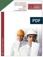 Master en Direccion de Empresas de Prevencion de Riesgos Laborales