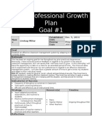 lindsay millar professional growth plan