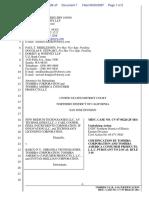 New Medium Technologies LLC et al v. Barko N.V. et al - Document No. 7