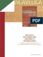 La Evaluacion Ambiental Previa y Proyectos_Instituto de Derecho de Minería, Petróleo y Energía