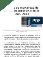 Análisis de Mortalidad de Edad Preescolar en México