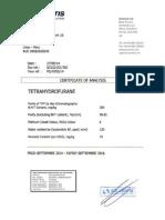 Thf Certificado Calidad