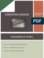 CIRCUITOS LOGICOS-PRESENTACION