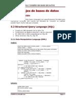 5.Lenguaje de Bases de Datos