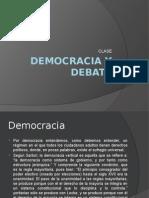 Democracia y Debate