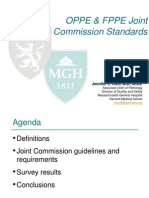 OPPE & FPPE Joint Commission Standards - Hunt (1)