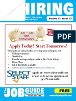 The Job Guide Volume 27 Issue 7