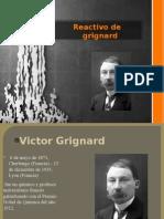 Grignard reactivo