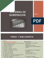 Tema 1 Sistemas de Numeracion
