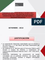 PROGRAMA DE CAPACITACIÓN DIRIGIDA A LOS DIRECTIVOS Y DOCENTES