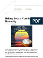 Baking Soda a Cure for Humanity
