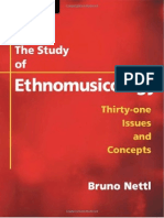 Bruno Nettl - The Study of Ethnomusicology