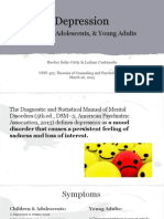 Counseling Presentation- Depression