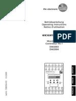 7390354DEFRUK_monitor de Velocidad Con Salida 4-20 Ma y Discreta