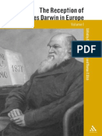 The Reception of Charles Darwin in Europe