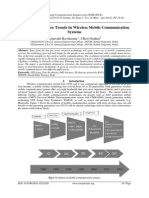 Current and Future Trends In Wireless Mobile Communication Systems