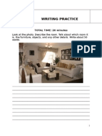 Writing Practice 2